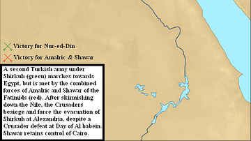 Third Crusader Invasion of Egypt, 1166-1167 CE