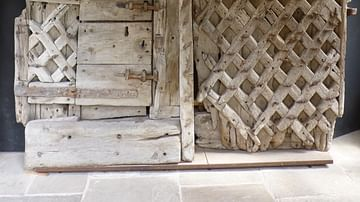Original Entrance Doors, Chepstow Castle
