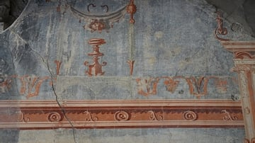 Fresco in the Fourth Pompeian Style