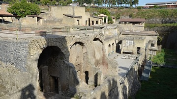 View of the Seafront of Herculaneum
