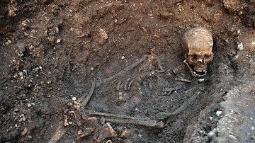 Skeleton of Richard III of England