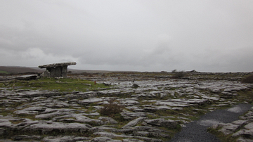 Poulnabrone Dolmen and the Karst Landscape of the Burren, Ireland