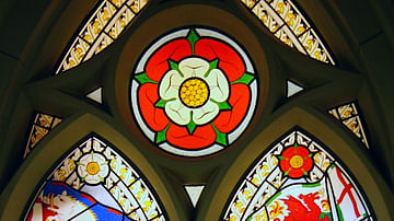 Richard III & Henry VII, Stained Glass Window