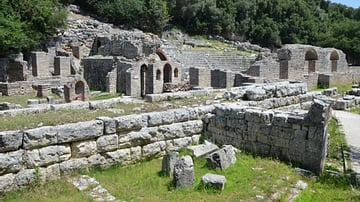 Agora and Roman Forum, Butrint