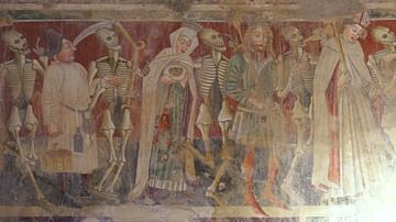 Danse Macabre in St. Mary's Church, Beram