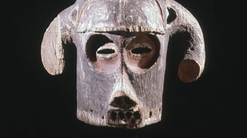 Horned Mask, Luba Kingdom