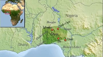 Map of Oyo Empire
