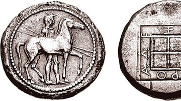 Coin Minted during the Reign of Alexander I of Macedon