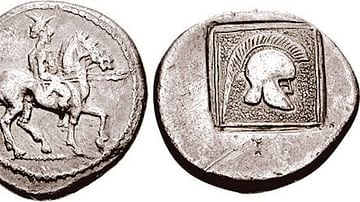 Tetradrachm Minted during the Reign of Alexander I of Macedon