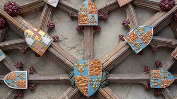 Henry V Coat of Arms, Canterbury Cathedral
