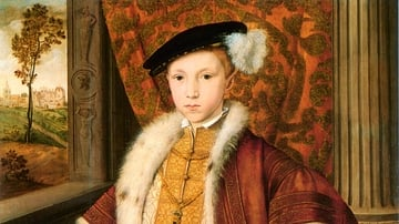 Edward VI of England as the Prince of Wales