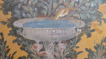 Garden Fresco in the Oplontis Villa Poppaea