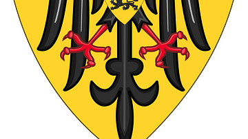 Imperial Coat of Arms of the Hohenstaufen Dynasty