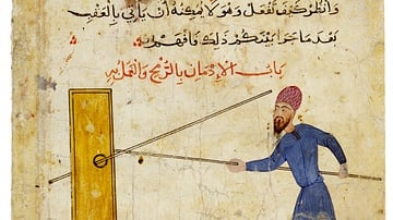 Mamluk Training with a Lance
