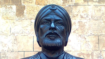 Statue of Sultan Qutuz