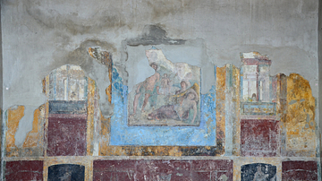Fresco Depicting Dionysus' Discovery of Ariadne on Naxos, Stabiae