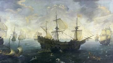 The Spanish Armada of 1588 CE By van Wieringen