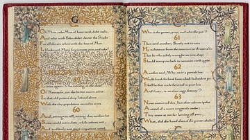 Illuminated Manuscript of the Rubaiyat