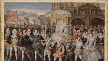 Elizabeth I in Procession