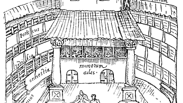 Elizabethan Stage, the Swan Theatre