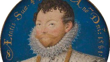 Francis Drake by Hilliard