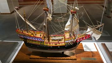 A Model of the Golden Hind