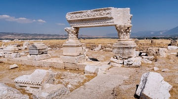 Remains of Ancient Monument in Laodicea
