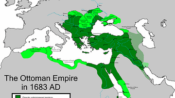 The Greatest Extent of the Ottoman Empire in Europe (1683 CE)