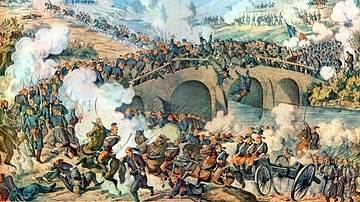 Battle at Bridge Skit 1877 CE