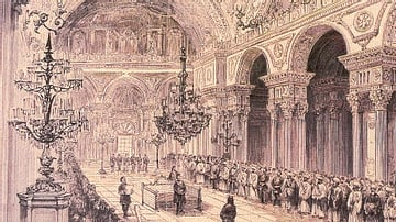 Opening Ceremony of the First Ottoman Parliament