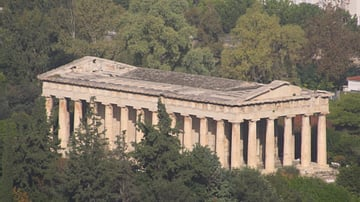 Aerial View of the Thesium, Athens