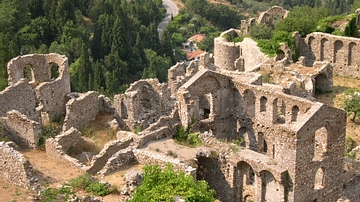 Mystras Lower Town