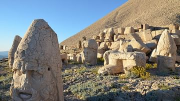Colossal Heads on the West Terrace of Mount Nemrut