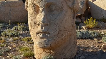 King Antiochus I on Mount Nemrut