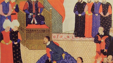 John Sigismund of Hungary with Suleiman I