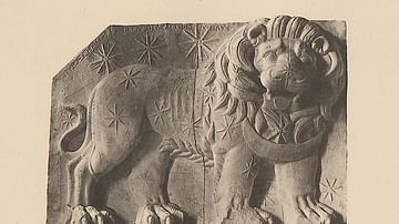 Relief of the Lion Horoscope from Mount Nemrut