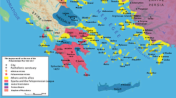 The Delian League, Part 2: From Eurymedon to the Thirty Years Peace (465/4-445/4 BCE)