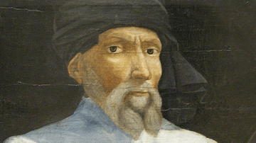 Portrait of Donatello
