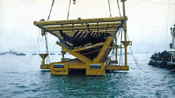 Salvage of the Mary Rose Wreck
