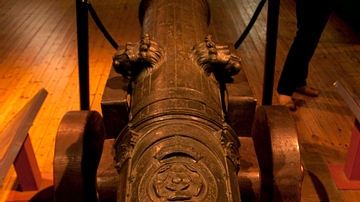Bronze Cannon from the Mary Rose