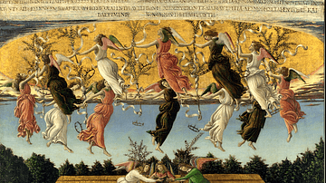 Mystic Nativity by Botticelli