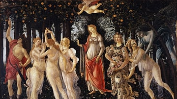 Primavera by Botticelli