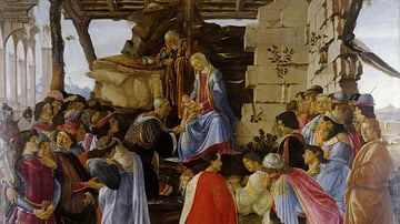 Adoration of the Magi by Botticelli