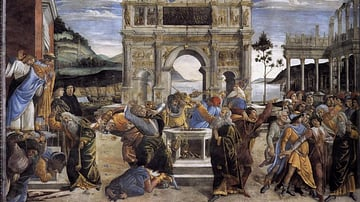 Life of Moses by Botticelli