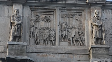 Dacian Prisoners, Arch of Constantine