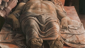 Lamentation of Christ by Mantegna