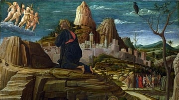 The Agony in the Garden by Mantegna