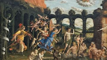 Virtue Triumphant over Vice by Mantegna