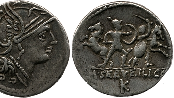 Coin of Roma or Bellona
