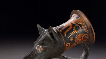 Dog-headed Rhyton